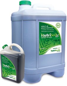 NutriSoil biological liquid fertiliser