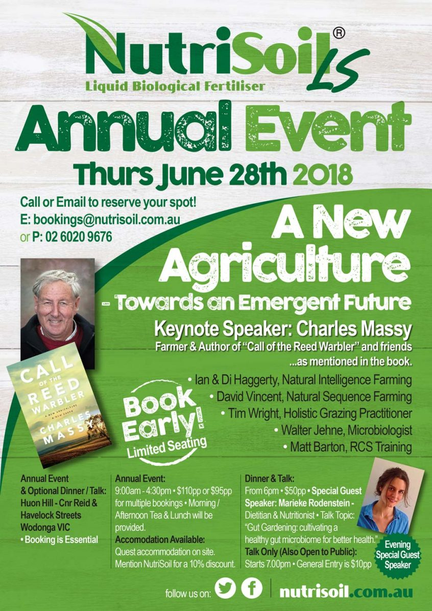 NutriSoil Annual Event 2108