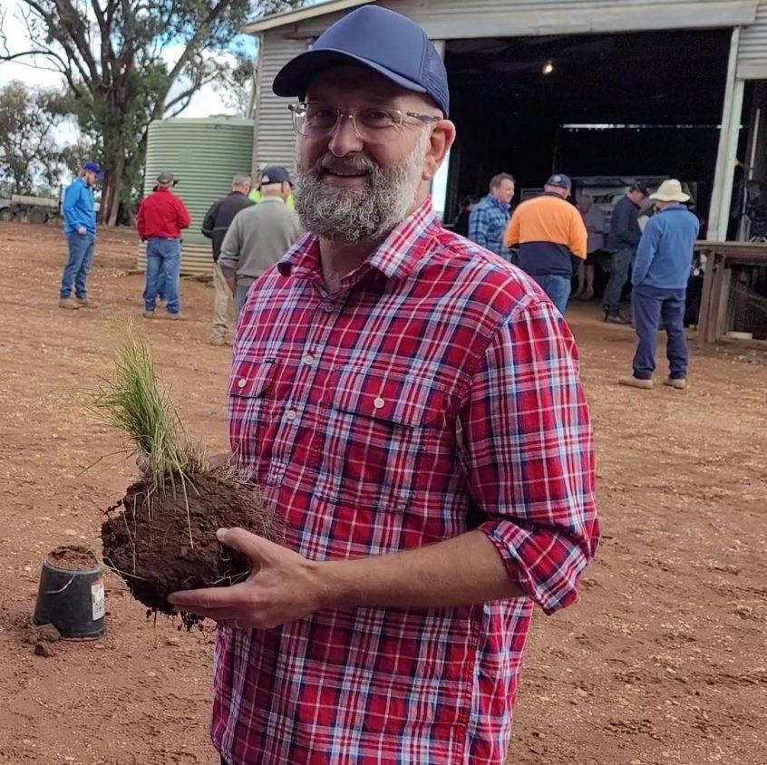 Soil Land Food agroecologist David Hardwick